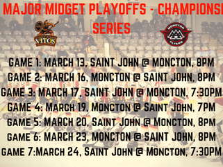 Championship Series Schedule