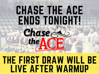 Chase The Ace Ends Tonight!
