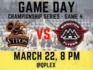 🏒New Brunswick Major Midget AAA Championship Series Game 4!🥅