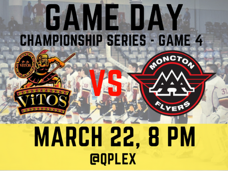 🏒New Brunswick Major Midget AAA Championship Series Game 4!🥅