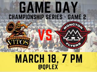 🏒New Brunswick Major Midget AAA Championship Series Game 2!🥅