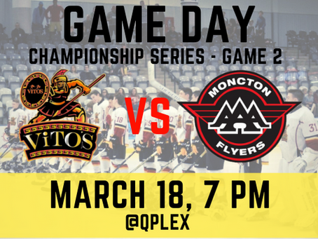🏒New Brunswick Major Midget AAA Championship Series Game 2!🥅
