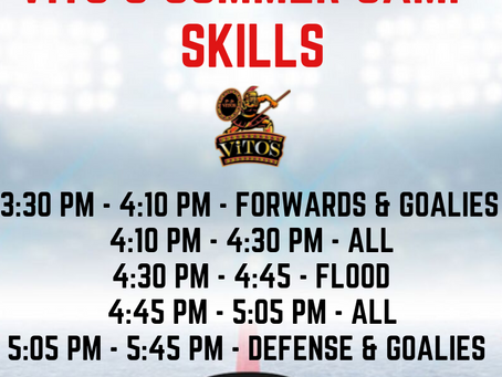 August 15 Skills Session Rescheduled