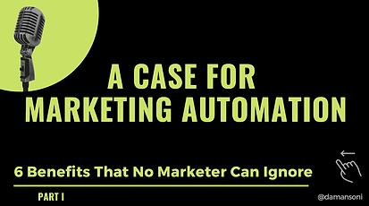 A Case Marketing Automation - Part 1