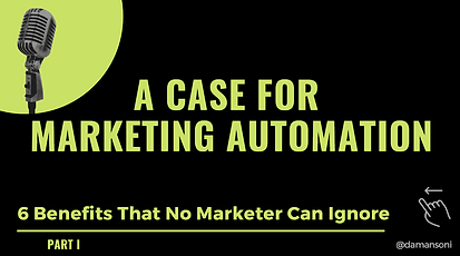 A Case Marketing Automation - Part 1