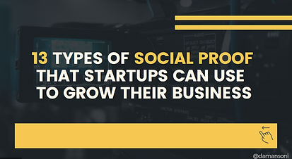 13 types of social proof