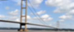 Humber Bridge, barto upon humber