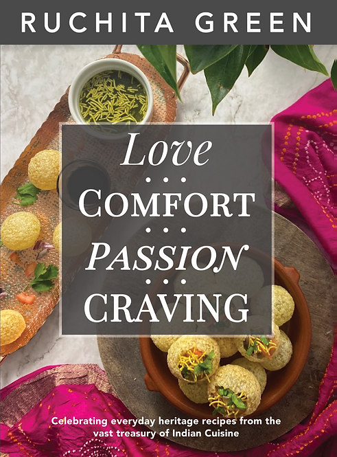 Love, Comfort, Passion, Craving by Ruchita Green
