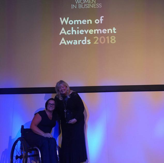 Women of Achievement Award 2018 Martine.
