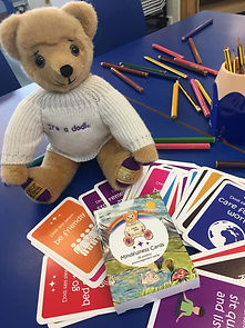 dodl bear and cards.jpg