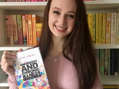 Catching up with Pippa Stacey, Author of 'University and Chronic Illness: A Survival Guide'