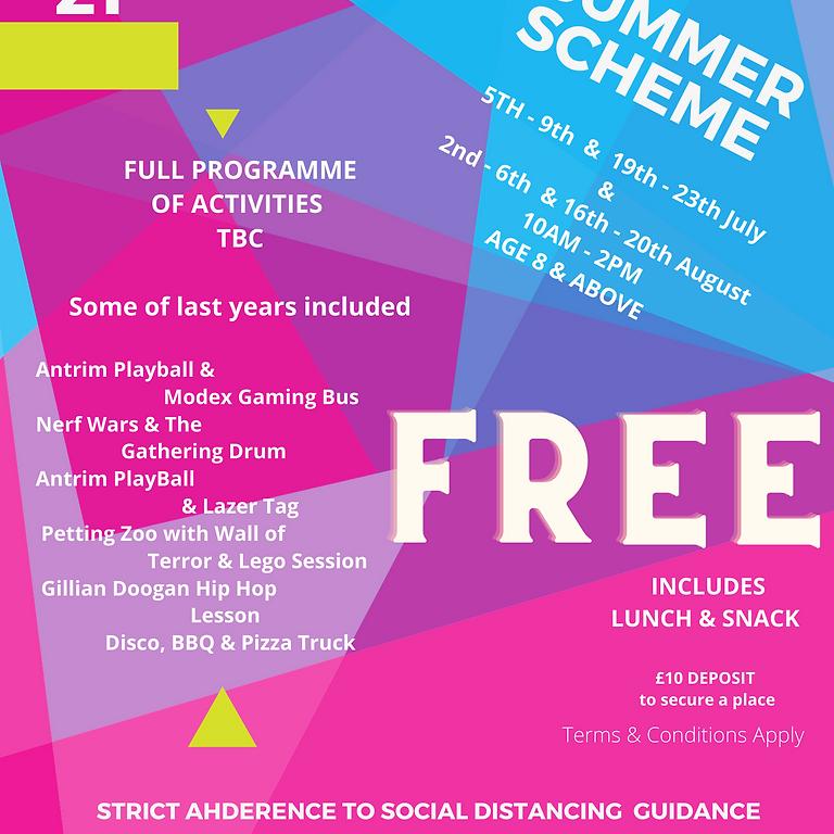 Crumlin Hub Summer Scheme