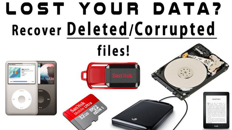 Recover Deleted or Corrupted files