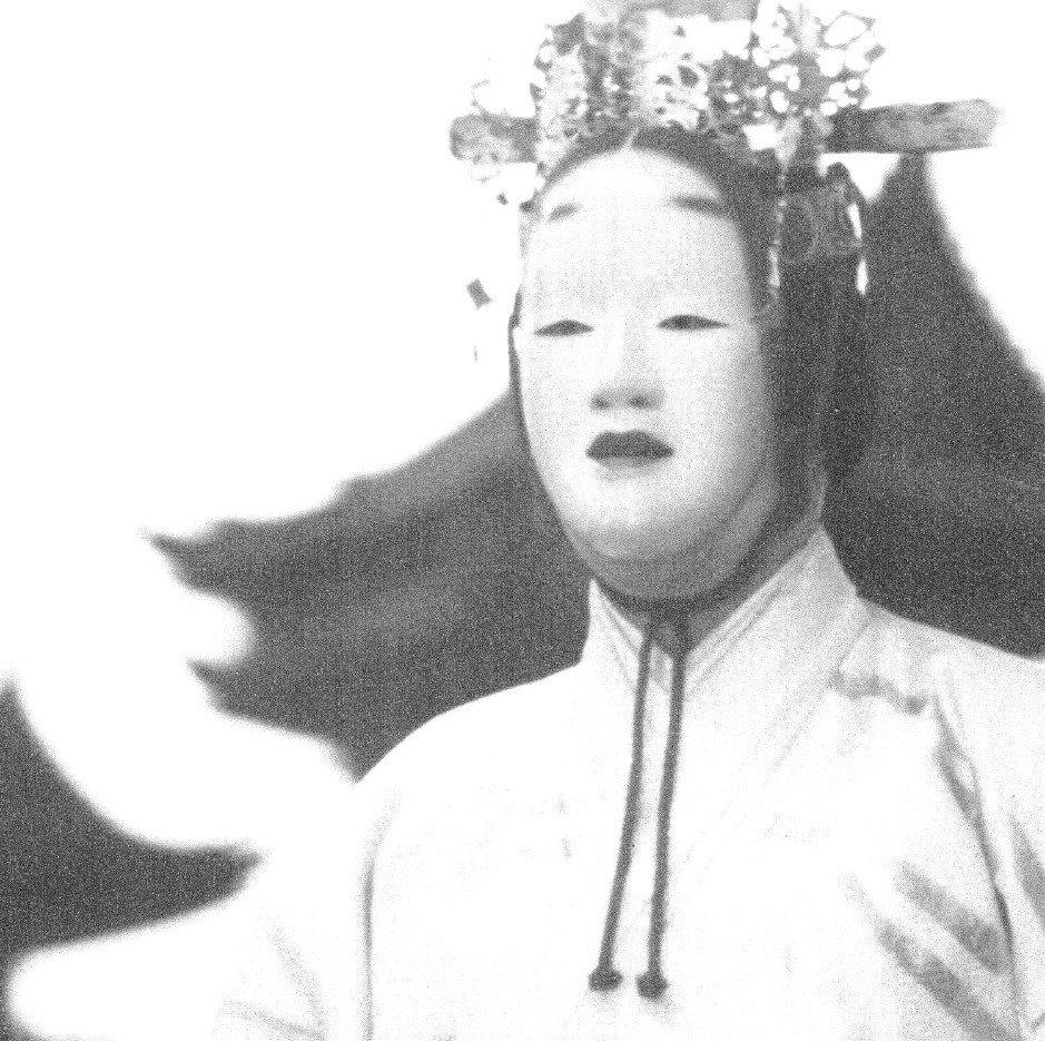 ritual mask hijiri silver works