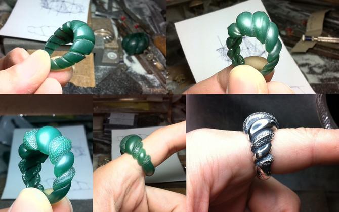 『注連縄の指環(077R)』完成