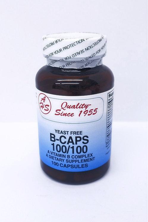 B Complex Caps (100)