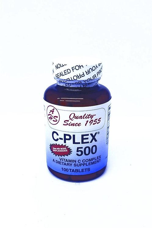 C-Plex, Vitamin C Coplex, 100 Tablets