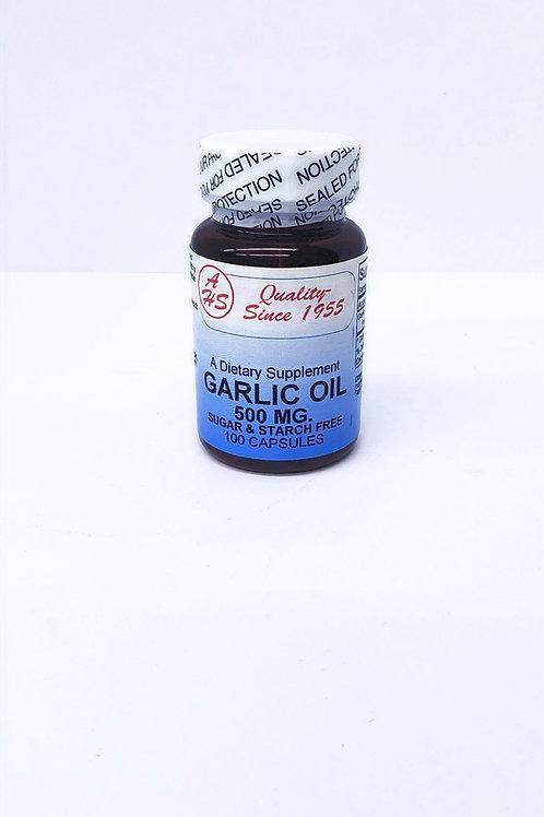 Garlic Oil, 500MG.