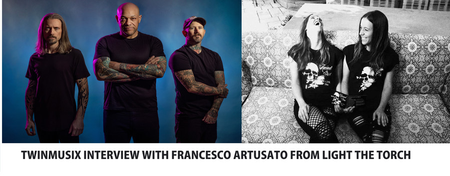 TWINMUSIX INTERVIEW WITH FRANCESCO ARTUSATO FROM LIGHT THE TORCH