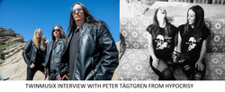 INTERVIEW WITH PETER TÄGTGREN FROM HYPOCRISY