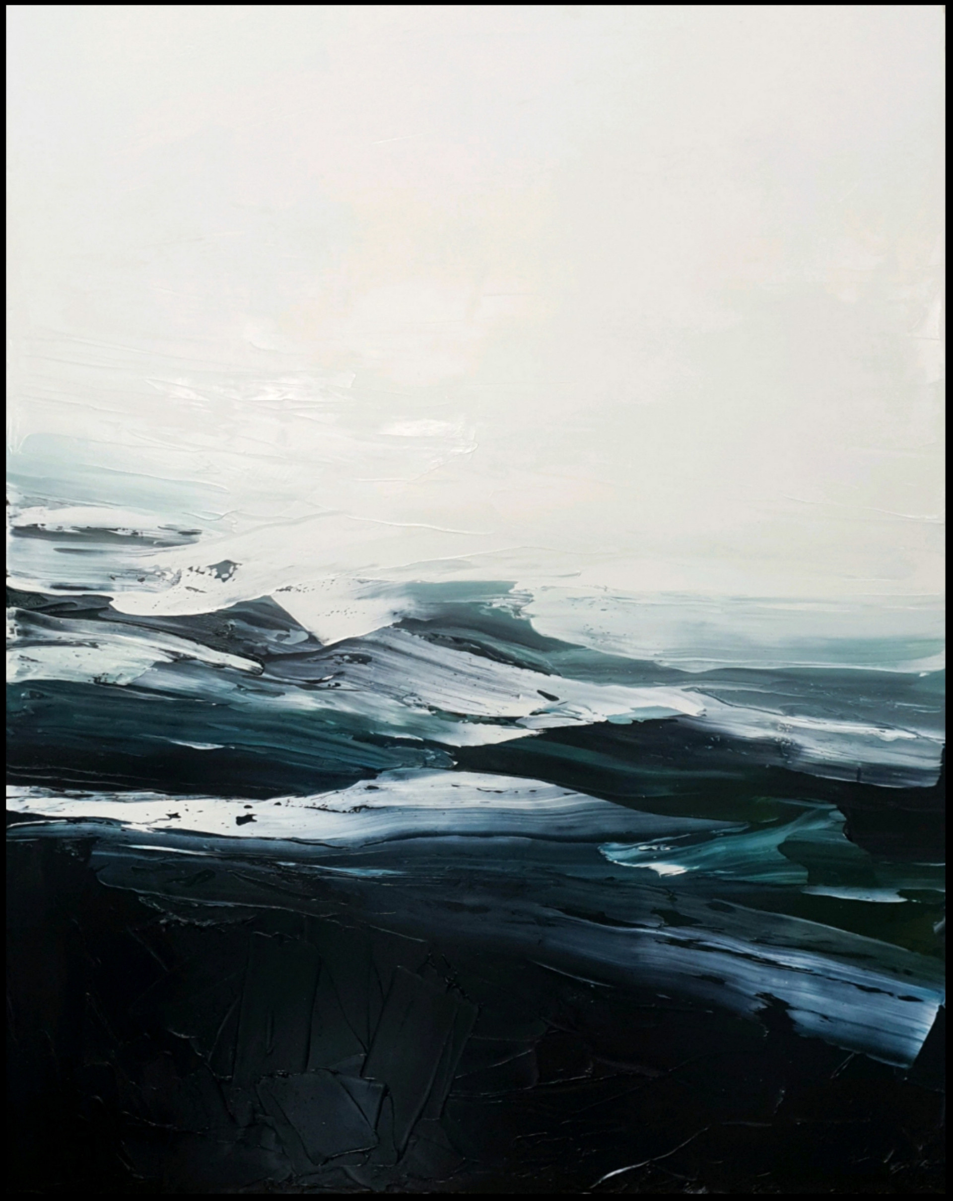 'Place Of Presence V', 150cm x 120cm