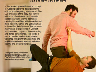September 12-13. Axis and Contact Workshop co-taught with Sebastian Grubb.