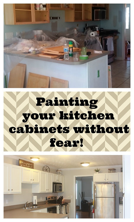 Painting Your Kitchen Cabinets Without Fear