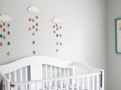 A Rainbow Baby Nursery