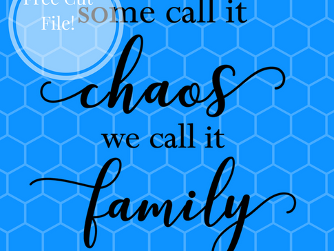 Freebie Friday-Free Silhouette/Cricut Cut file