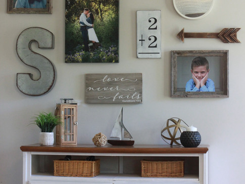 Flip your old dresser to a Gorgeous Console Table