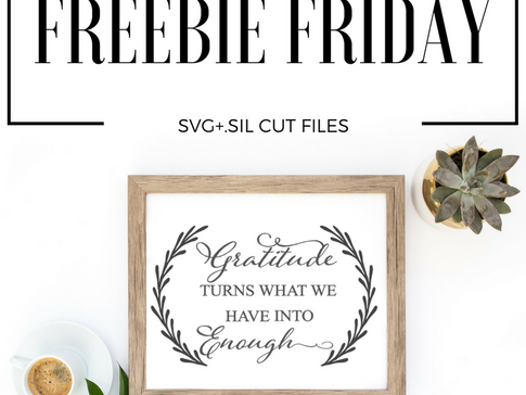 Freebie Friday- Free Cut File!