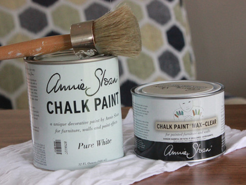 How to use Annie Sloan Chalk Paint and Wax