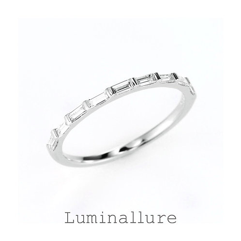 Elegant Diamond Ring / K18WG / 0.30ct
