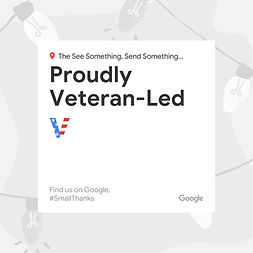 Veteran-Led - Social Post - Small Thanks