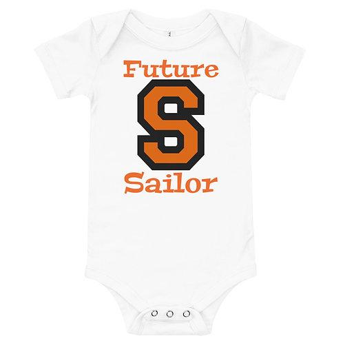 Baby short sleeve one piece - Future Sailor
