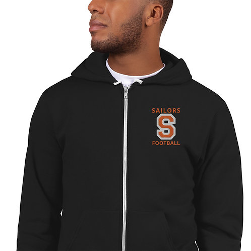 Hoodie sweater with S and Sailors Football