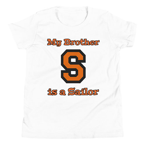 Youth Short Sleeve T-Shirt - My Brother is a Sailor