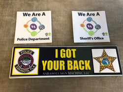 Stickers for Police / Sheriff