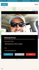 See Something,Send Somethin App Screenshot