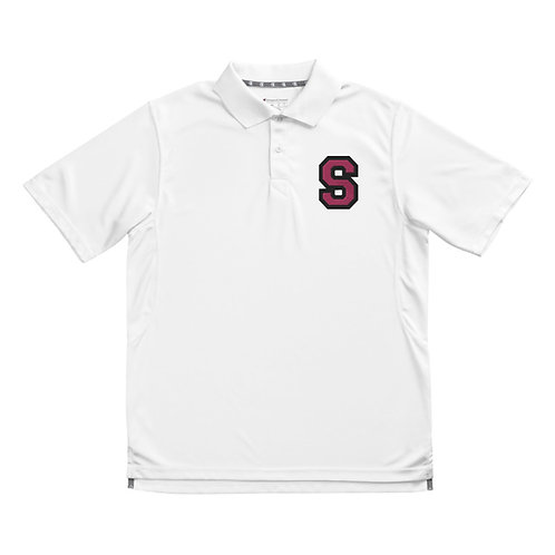 Men's Champion Breast Cancer Awareness Polo - Proceeds Donated to BCA