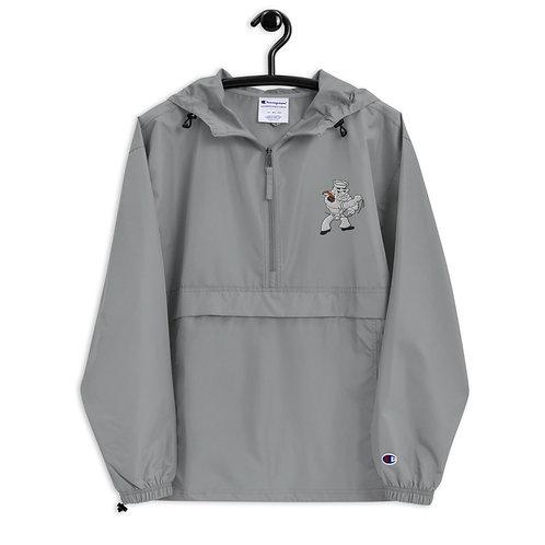 Embroidered Jacket with Left Pocket Logo