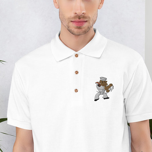 Embroidered Polo with Logo