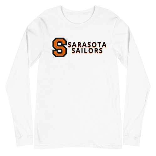Unisex Long Sleeve Tee - S with Sarasota Sailors