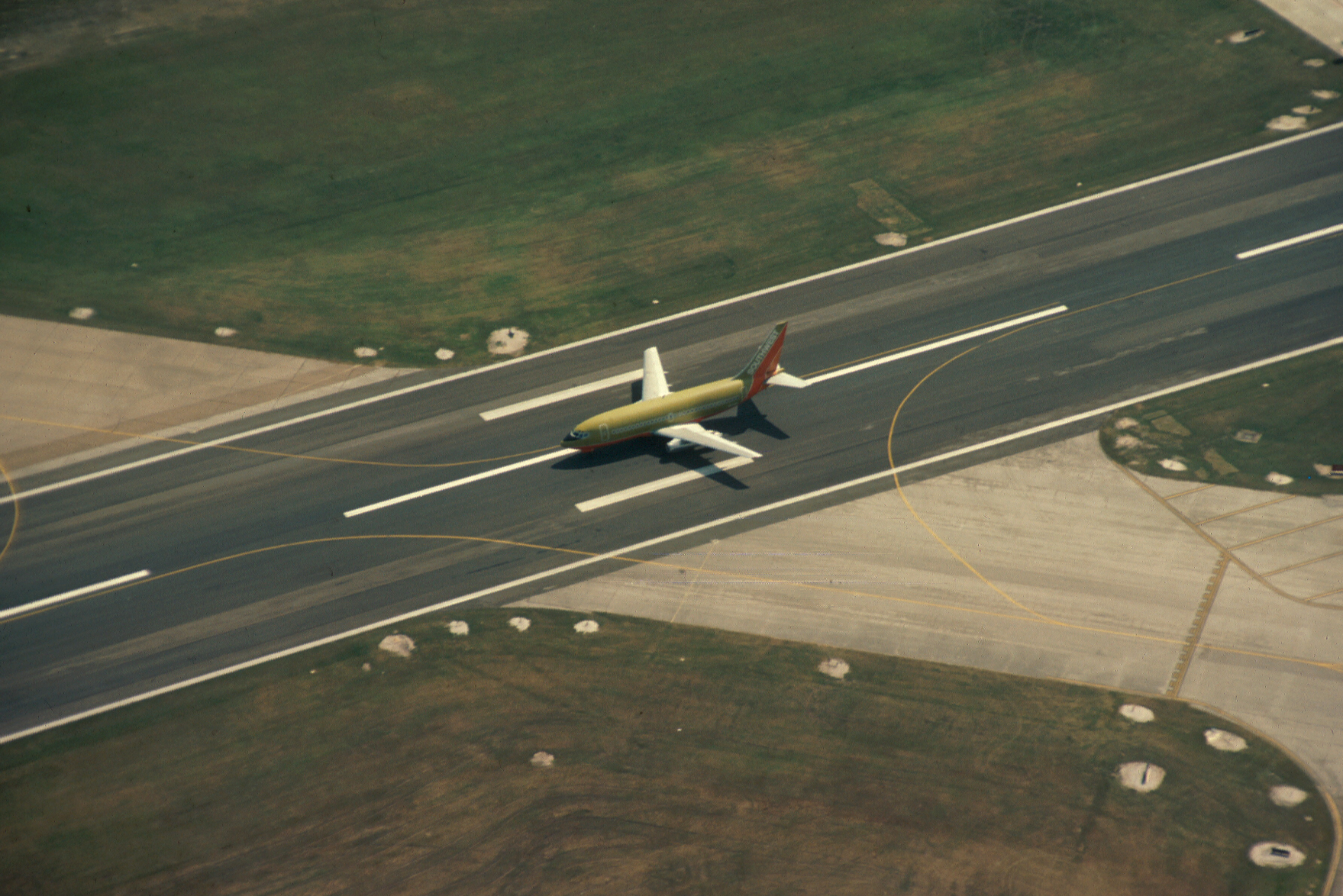 Hobby Airport Taxiway