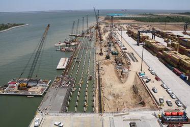 Bayport Terminal Wharf