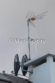 Antenne TNT-SAT collectif - Mediasat-tv -Antenniste - Mennecy