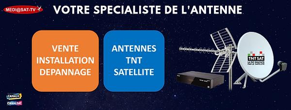 Mediasat-tv Professionnel de l'antenne T