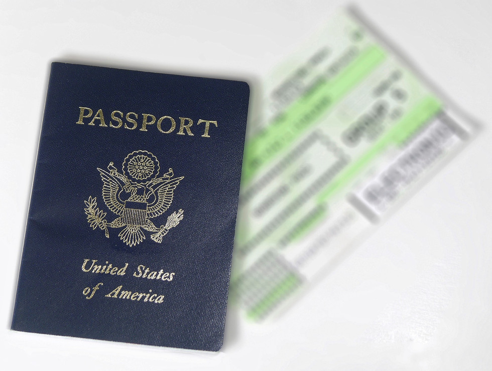 Passing The Time With Passports