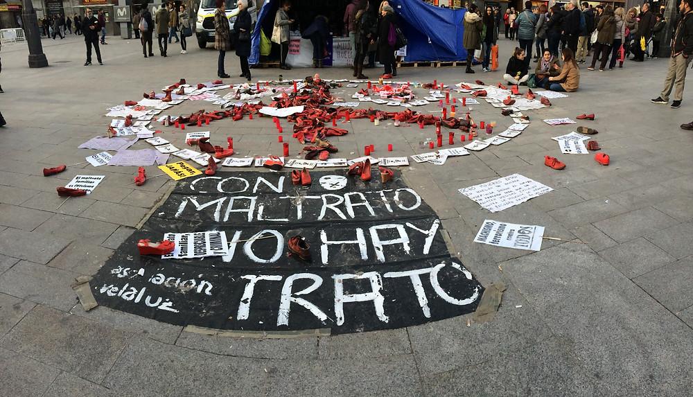 Ve-la Luz installation in Puerta del Sol