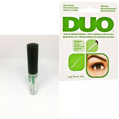 Duo Brush on glue Clear or Black